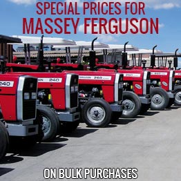 Special Prices for Massey Ferguson Tractors
